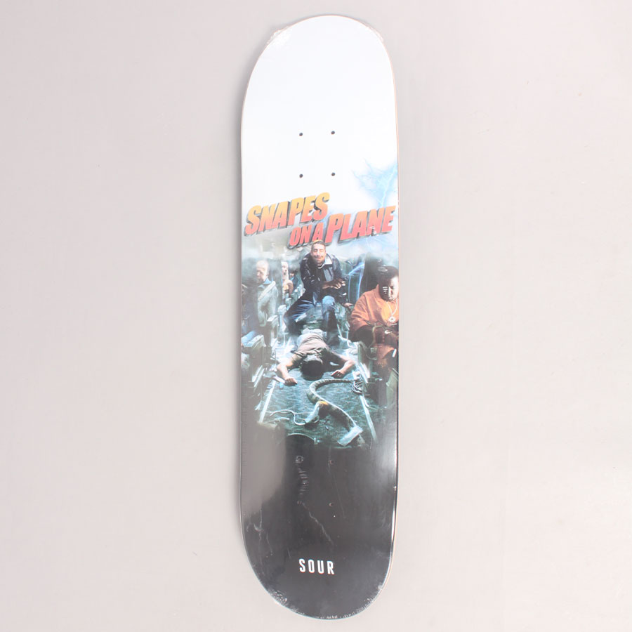 Sour Snapes On A Plane Skateboard Deck