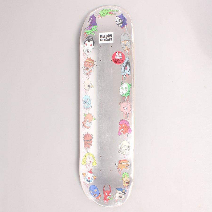 """Baker Reynolds Wizardry Skateboard Deck - 8,3875"""""""