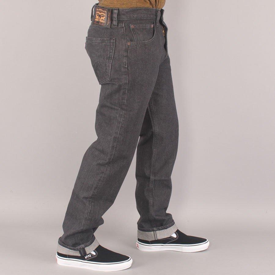 Levi's Skateboarding Skate 551 Z Straight Jeans - Washed Black
