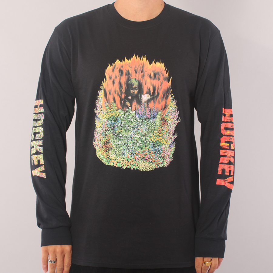 Hockey Aria LS T-shirt - Black