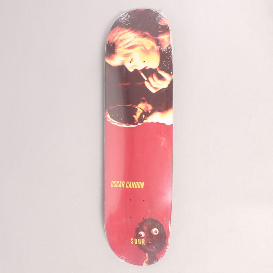 Sour Candon Paint Skateboard Deck