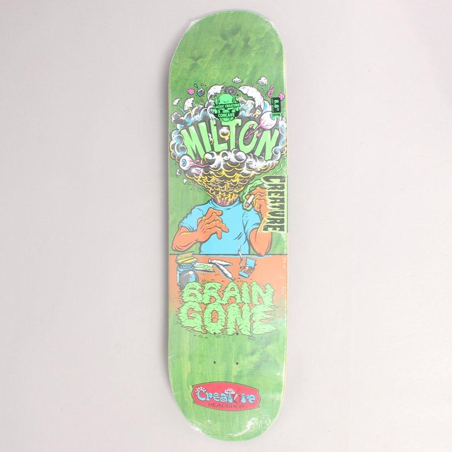 "Creature Martinez Brain Gone Skateboard Deck - 8,60"""