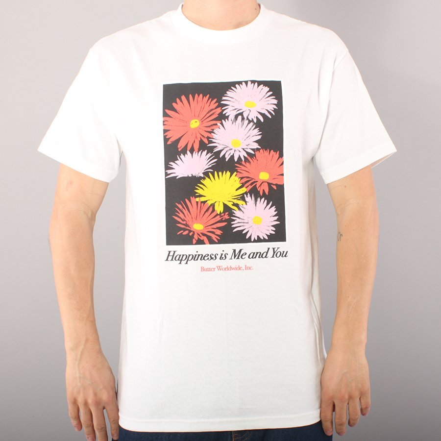 Butter Goods Happiness T-shirt - White