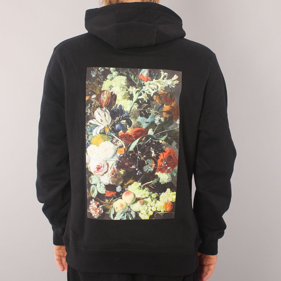 Poetic Collective Classic Flower Hoodie - Black