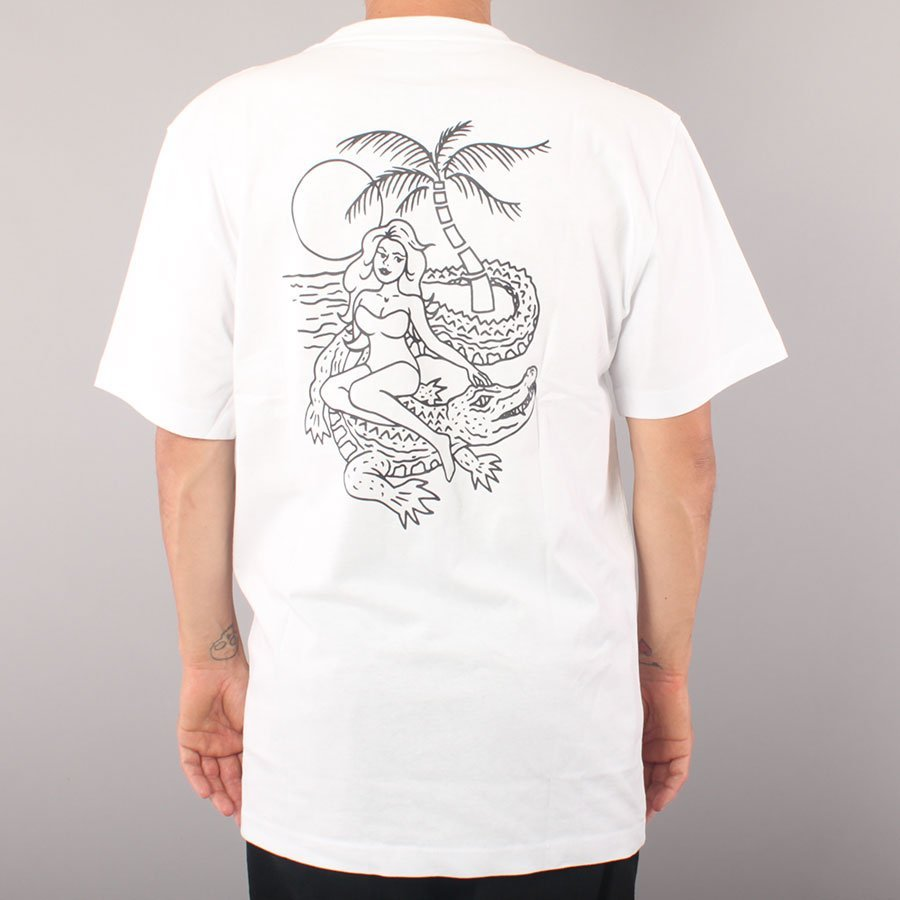 Dickies Jamie Foy Graphic Pocket T-Shirt - White