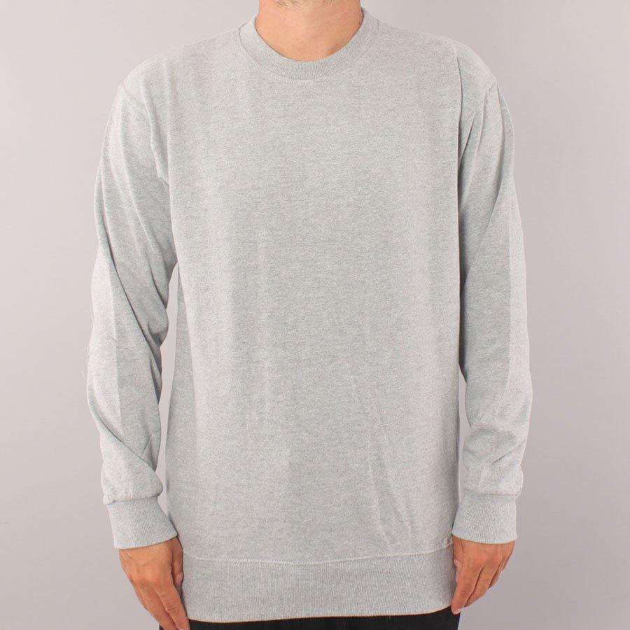 The Boss No Logo Crewneck Sweater - Ash