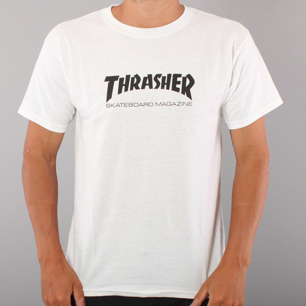 Thrasher Youth Skate Mag T-shirt - White