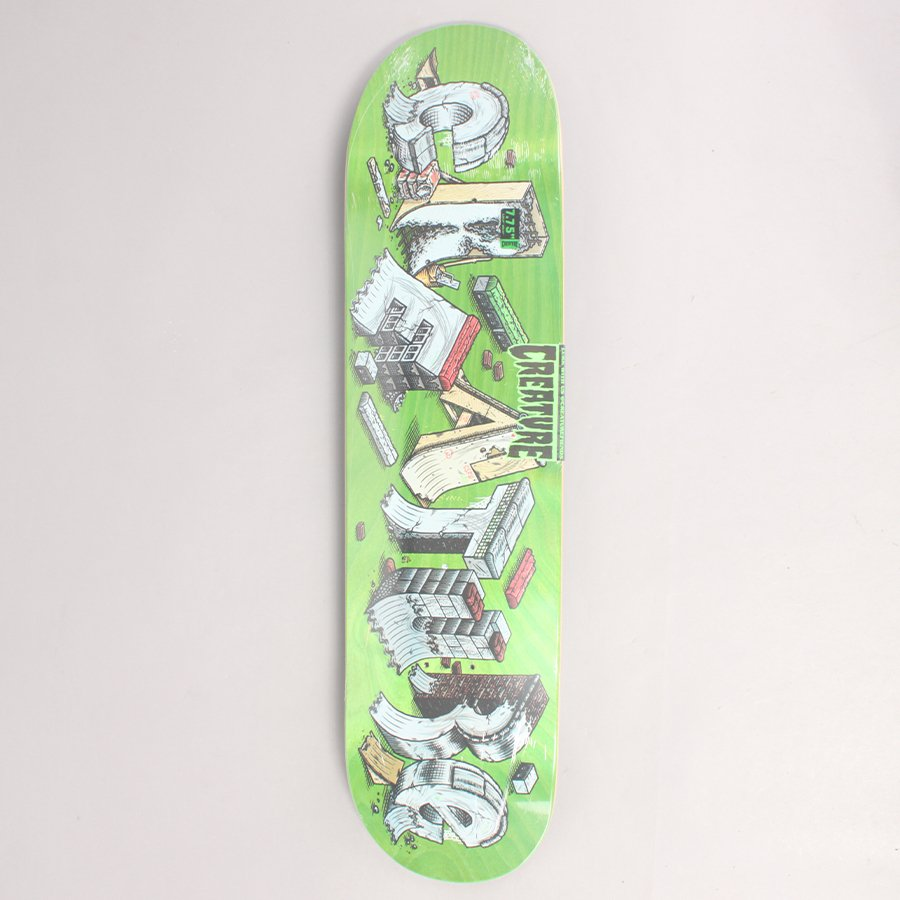 "Creature Slab DIY Skateboard Deck - 7,75"""