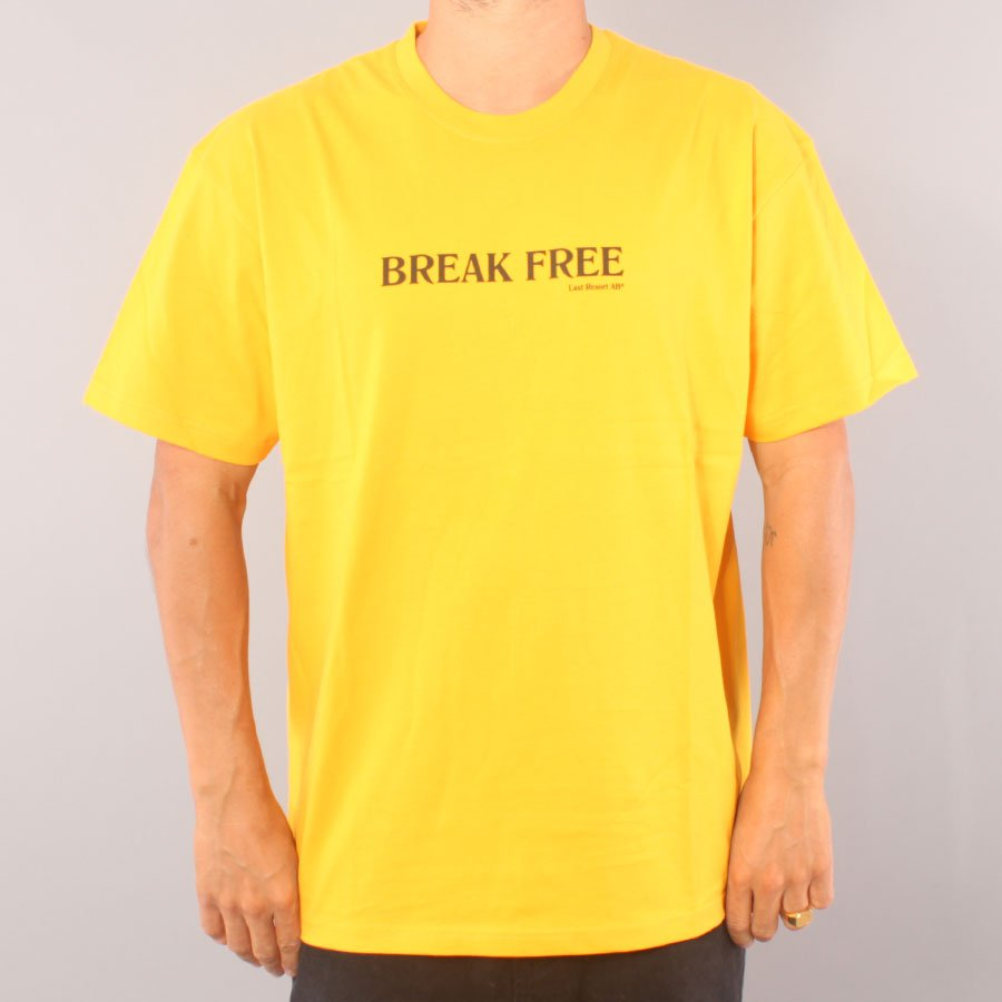 Last Resort AB Break Free T-shirt - Cheddar