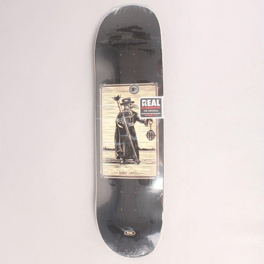 """Real Lintell Plague Doctor Skateboard Deck - 8,50"""""""