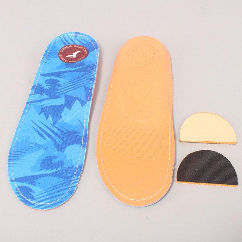 Footprint Insoles Blue Camo King Foam Orthotics Low Profile Sole-9 / 9,5