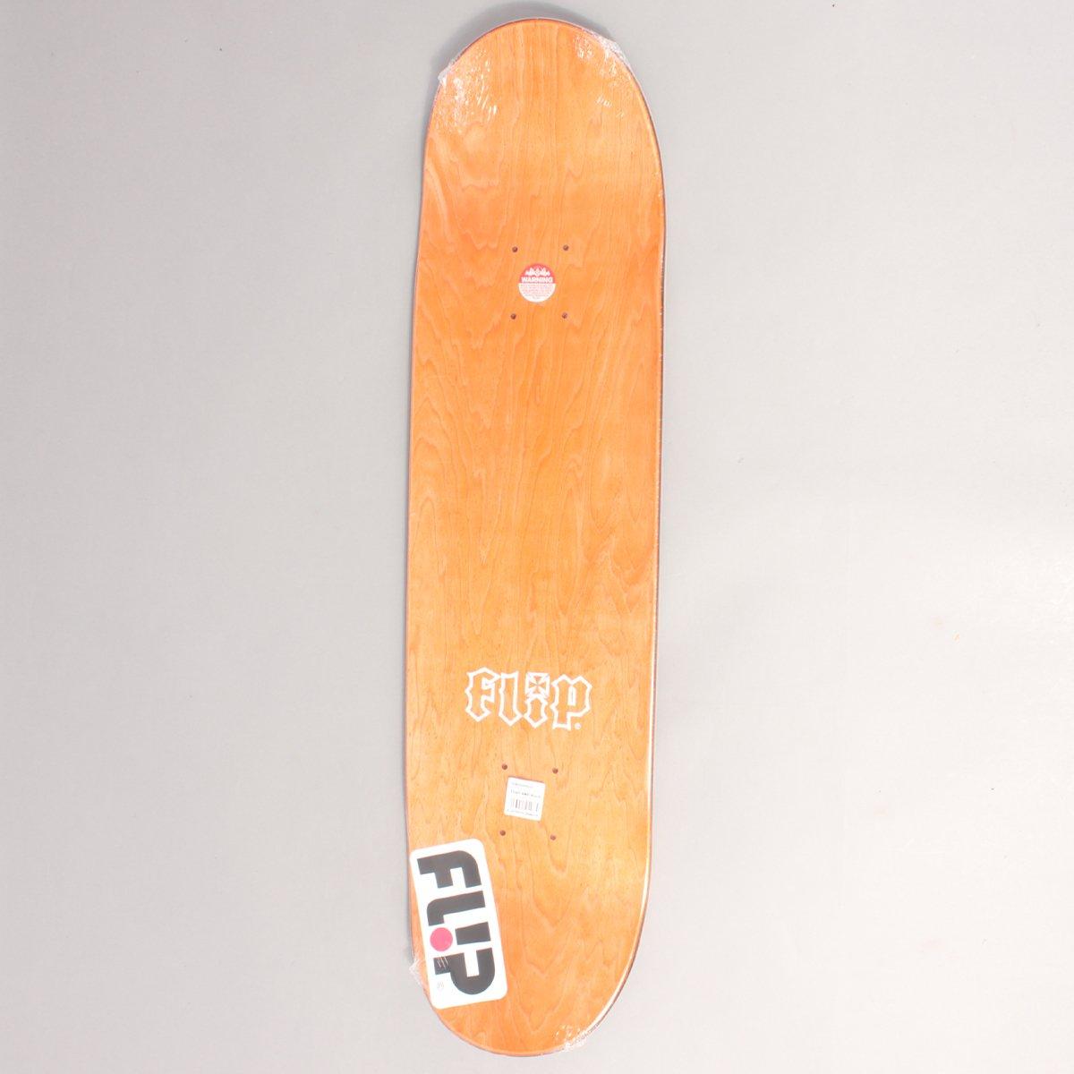 "Flip Team HKD Black/Red Skateboard Deck - 8,00"""