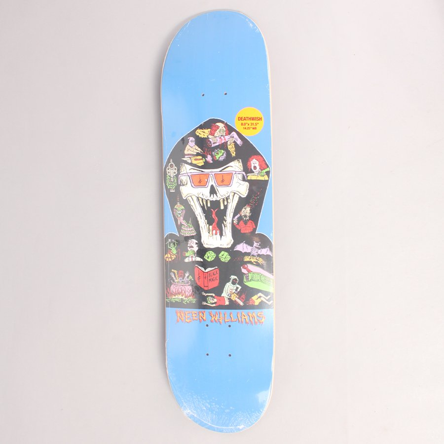 """Deathwish Williams Blasphemy Skateboard Deck - 8,00"""""""