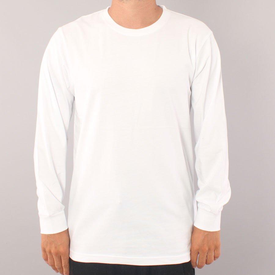 The Boss No Logo LS T-shirt - White