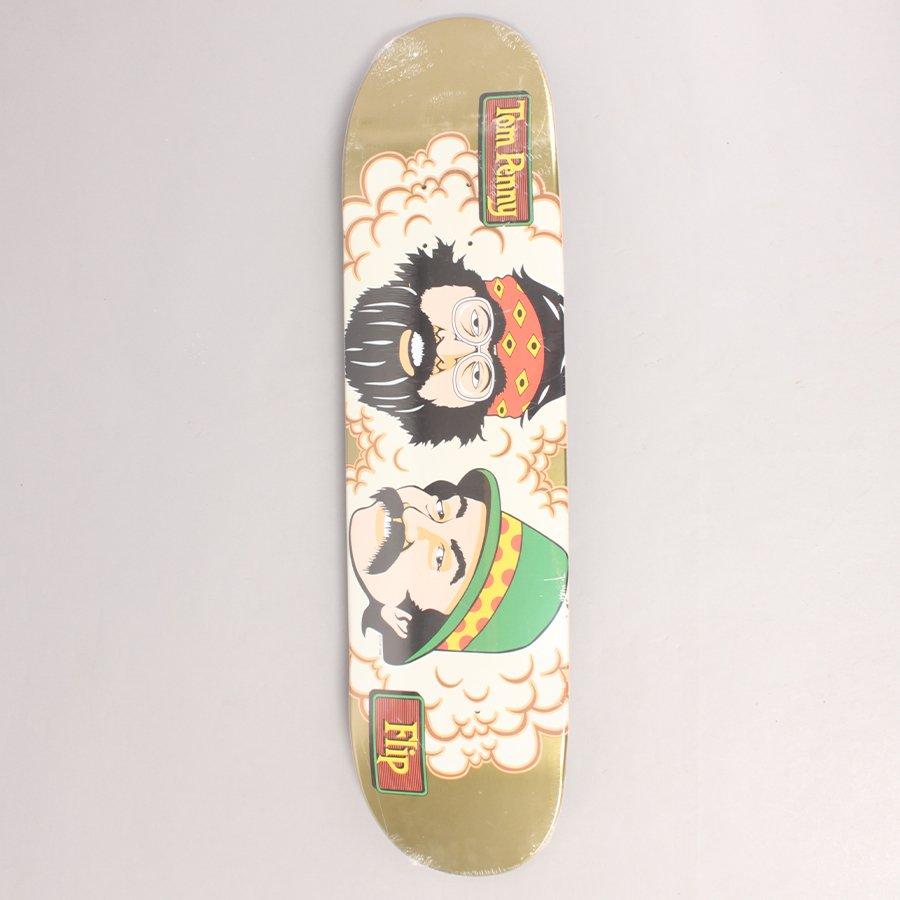 """Flip Penny Cheech And Chong Gold 50 Skateboard Deck - 8,00"""""""