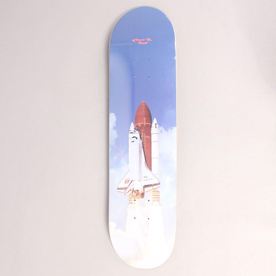 "Crack Planet Lift Off Skateboard Deck - 8,375"""