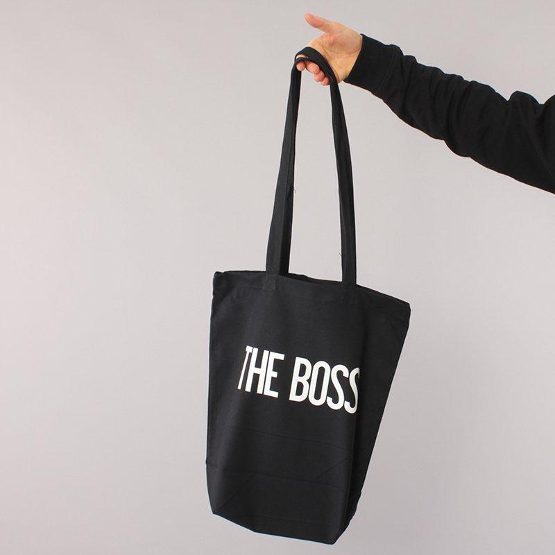 The Boss Logo Recycling Bag - Black