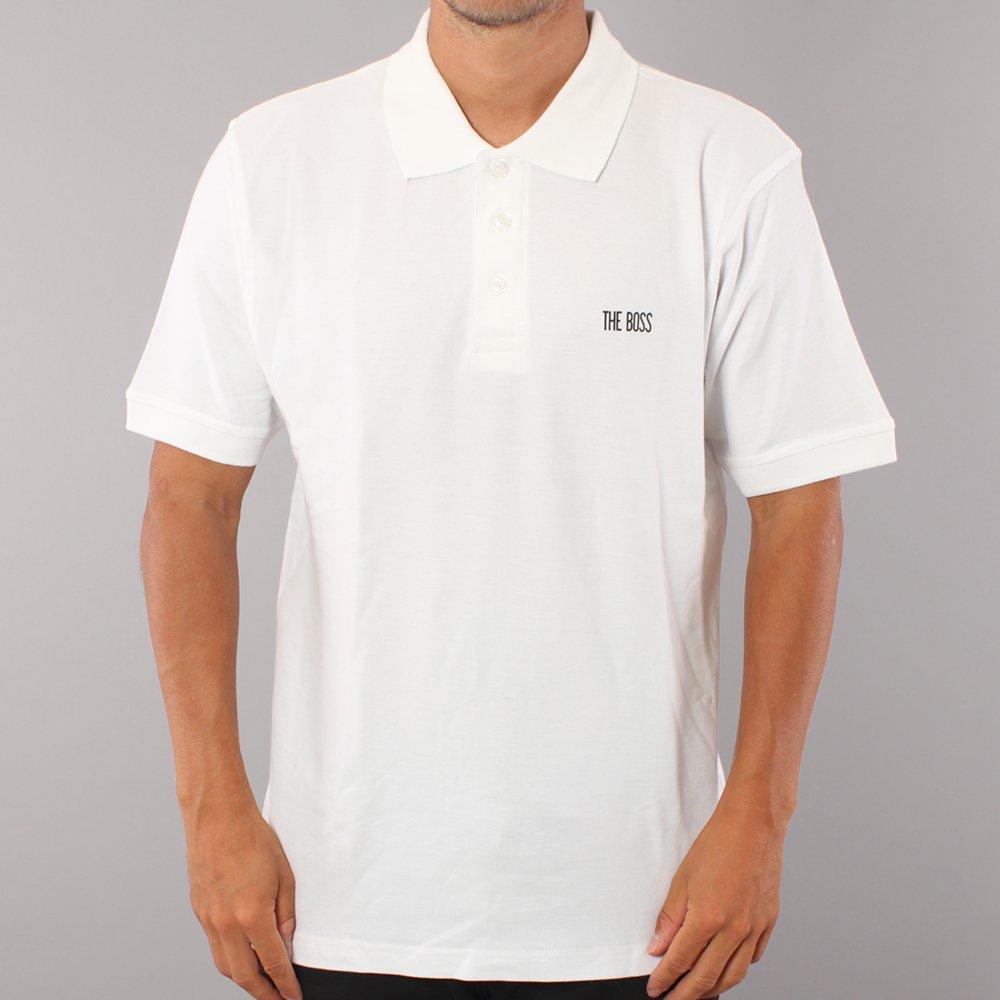 The Boss Mini Logo Polo T-shirt - White