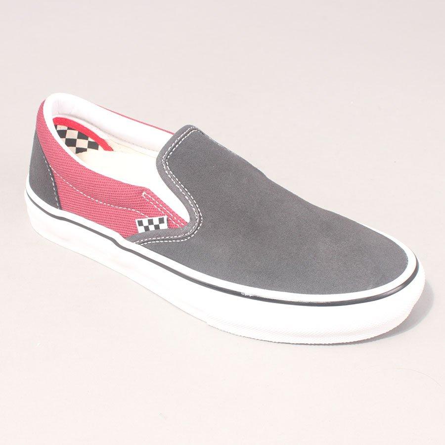 Vans Skate Slip On - Asphalt/Pomegranate