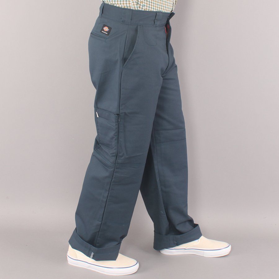 Dickies Storden Double Knee Flex Work Pant Chino - Air Force Blue-32/30