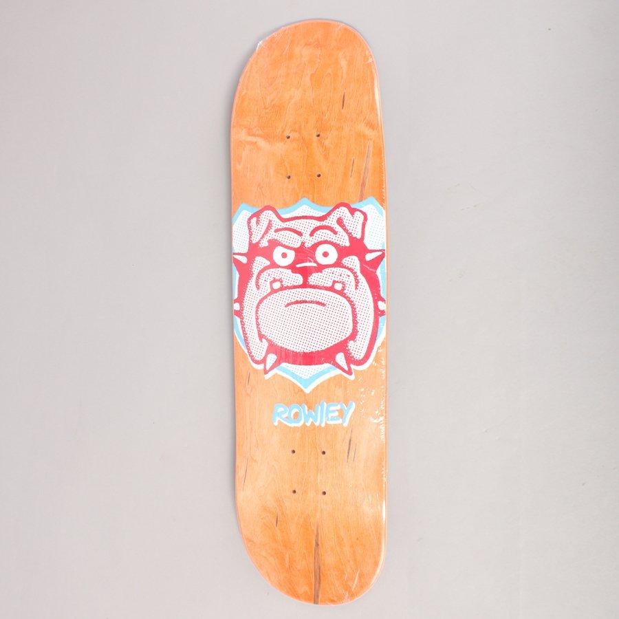 "Free Dome Rowley Trophy Orange Skateboard Deck - 8,375"""