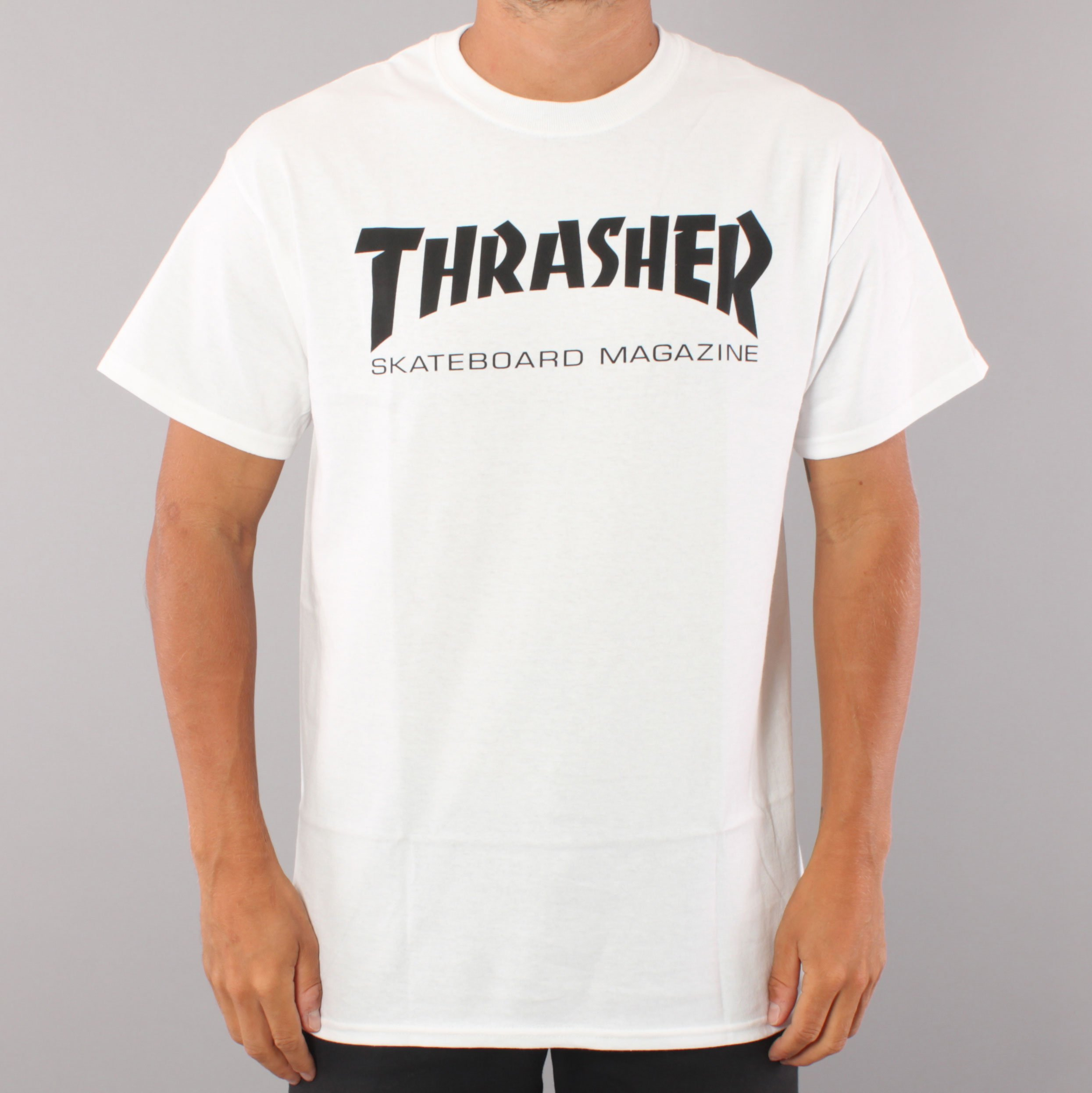 Thrasher Skate Mag T-shirt - White