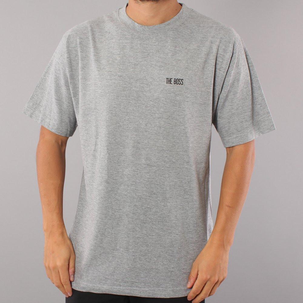 The Boss Mini Logo T-shirt - Grey