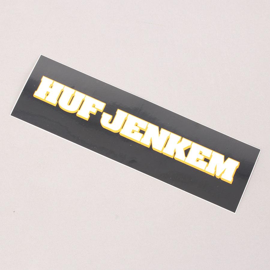 HUF x Jenkem Teamwork Sticker