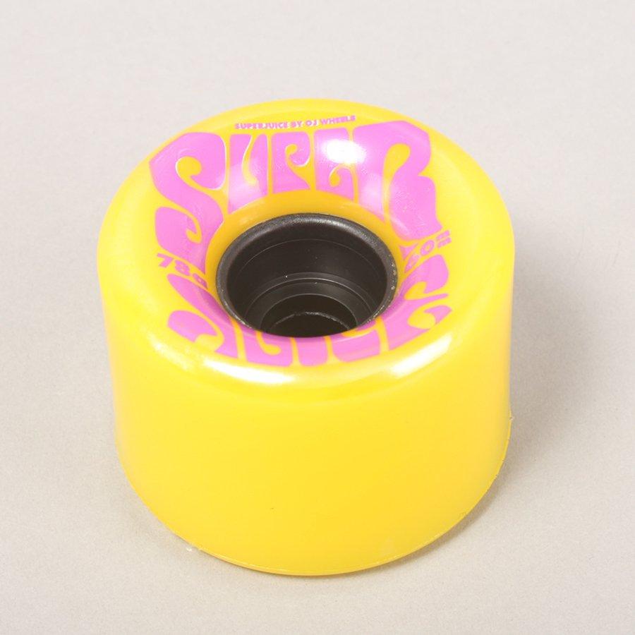 OJ Wheels Super Juice Yellow Cruiser Wheels - 60mm 78A
