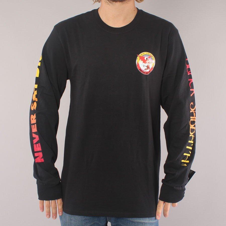 Lakai x Black Sabbath Never Say Die LS T-shirt - Black-XL