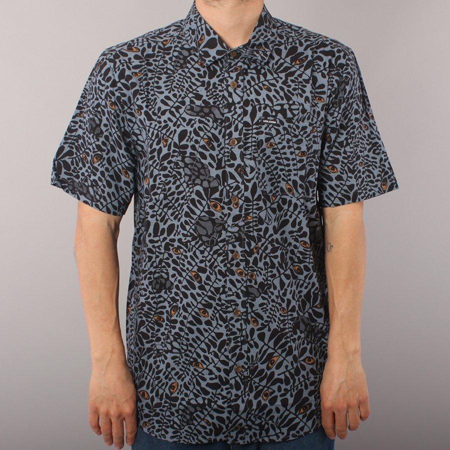 Volcom Striver SS Shirt - China Blue