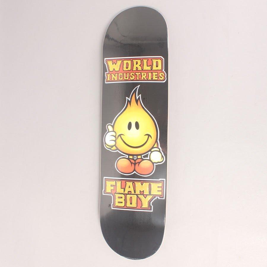 "World Industries Flame Boy Skateboard Deck - 8,3"""