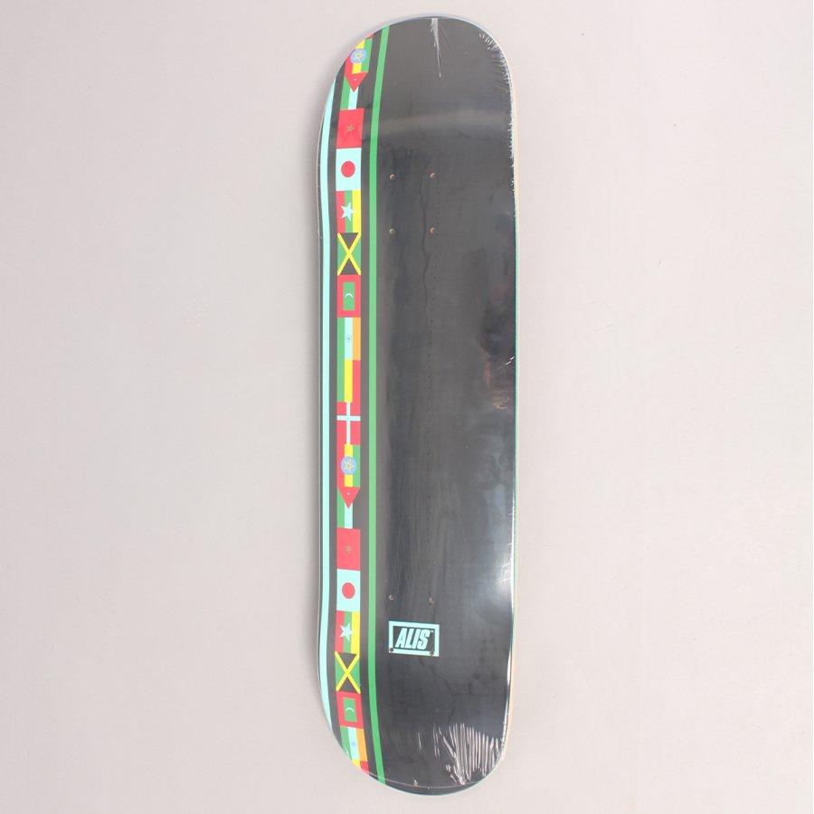 "Alis Going Global Skateboard Deck - 8,00"""