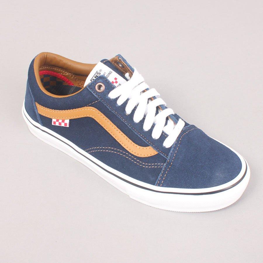 Vans Reynolds Skate Old Skool - Navy/Golden Brown