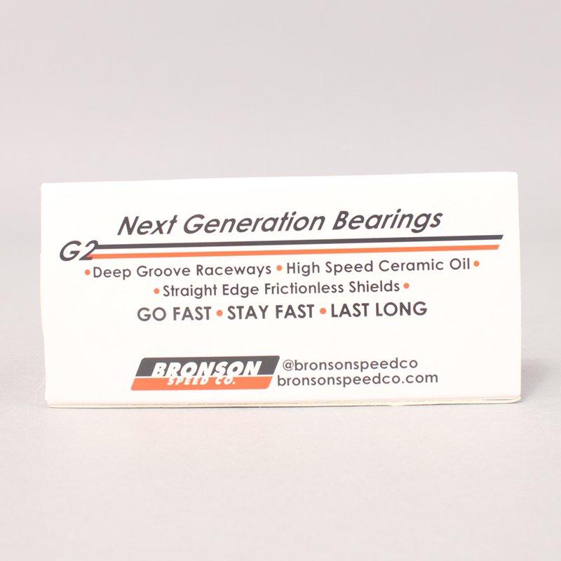 Bronson G2 Bearings