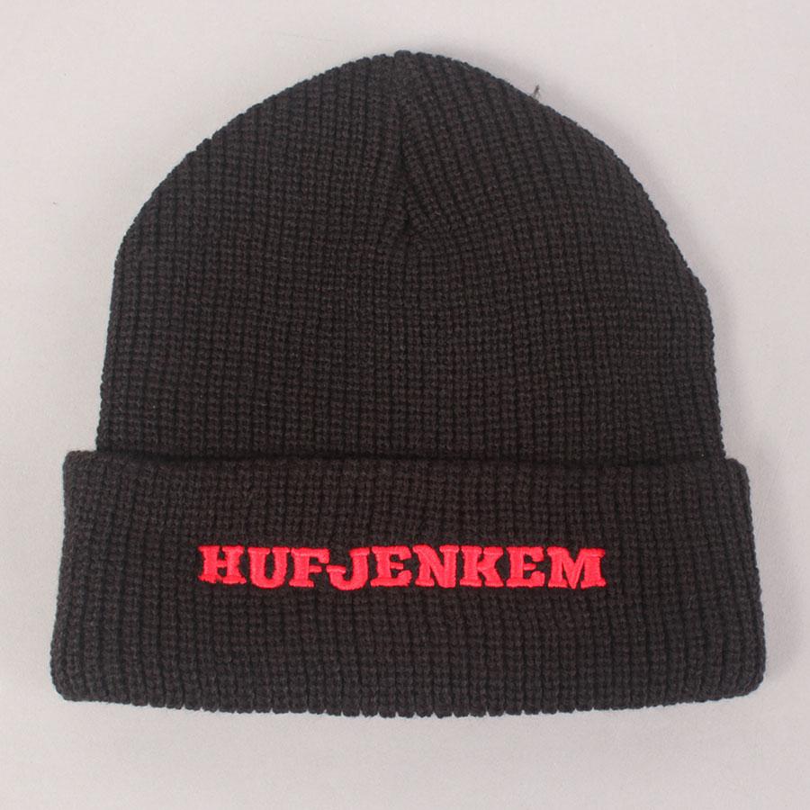 HUF x Jenkem Teamwork Cuff Beanie - Black