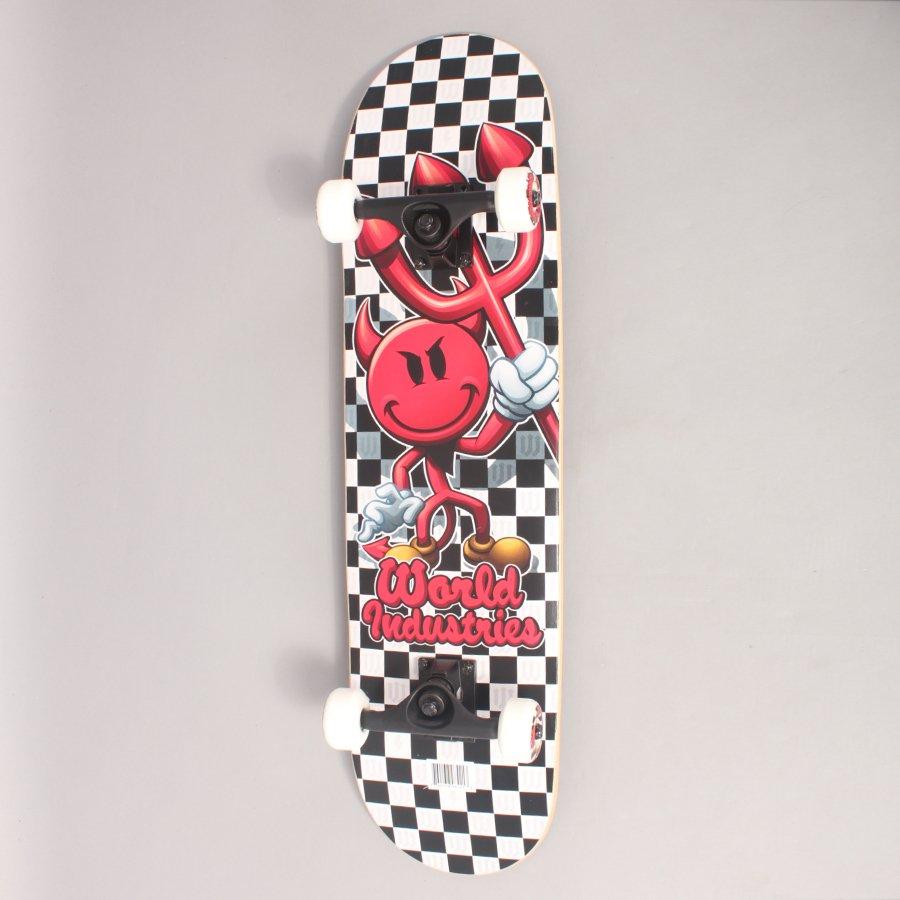 "World Industries Devil Complete Skateboard - 8,00"""