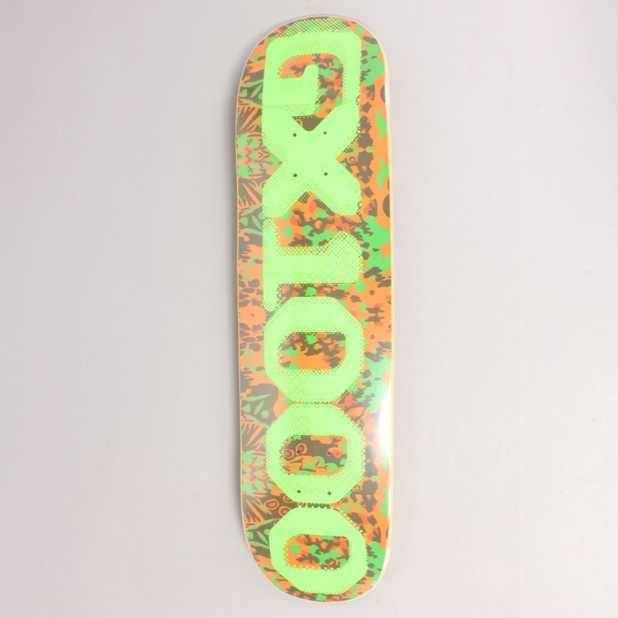 "GX1000 OG Tropical Camo Skateboard Deck - 8,25"""