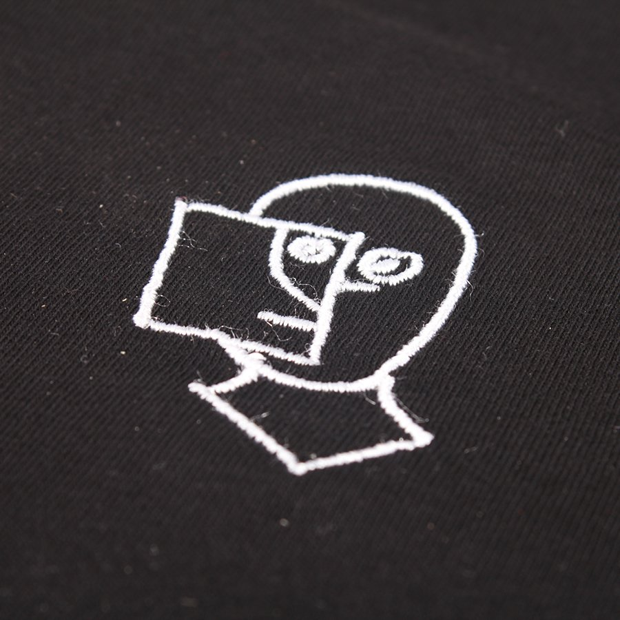 The Boss Shop Sketchy Embroidered T-shirt - Black