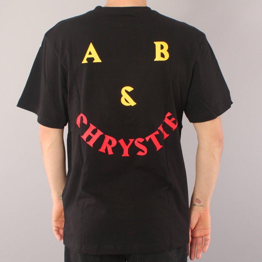 Chrystie NYC AB Chrystie Smile T-shirt - Black-L