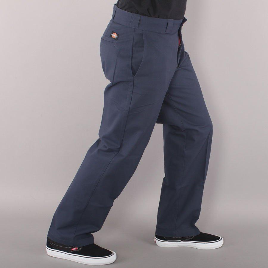 Dickies Slim Straight Flex Work Pant Chino - Navy