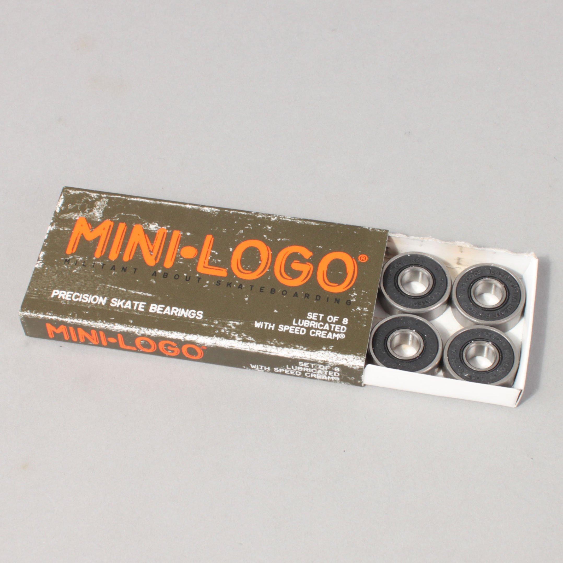 Mini Logo Bearings - Abec 3