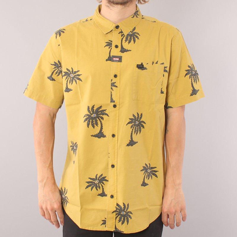 Globe Coco Loco SS Shirt - Yellow