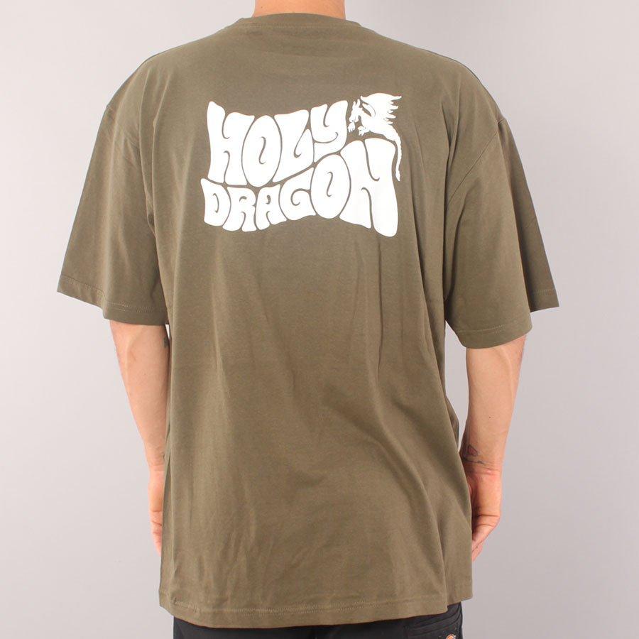 Holy Dragon Band T-shirt - Army Green