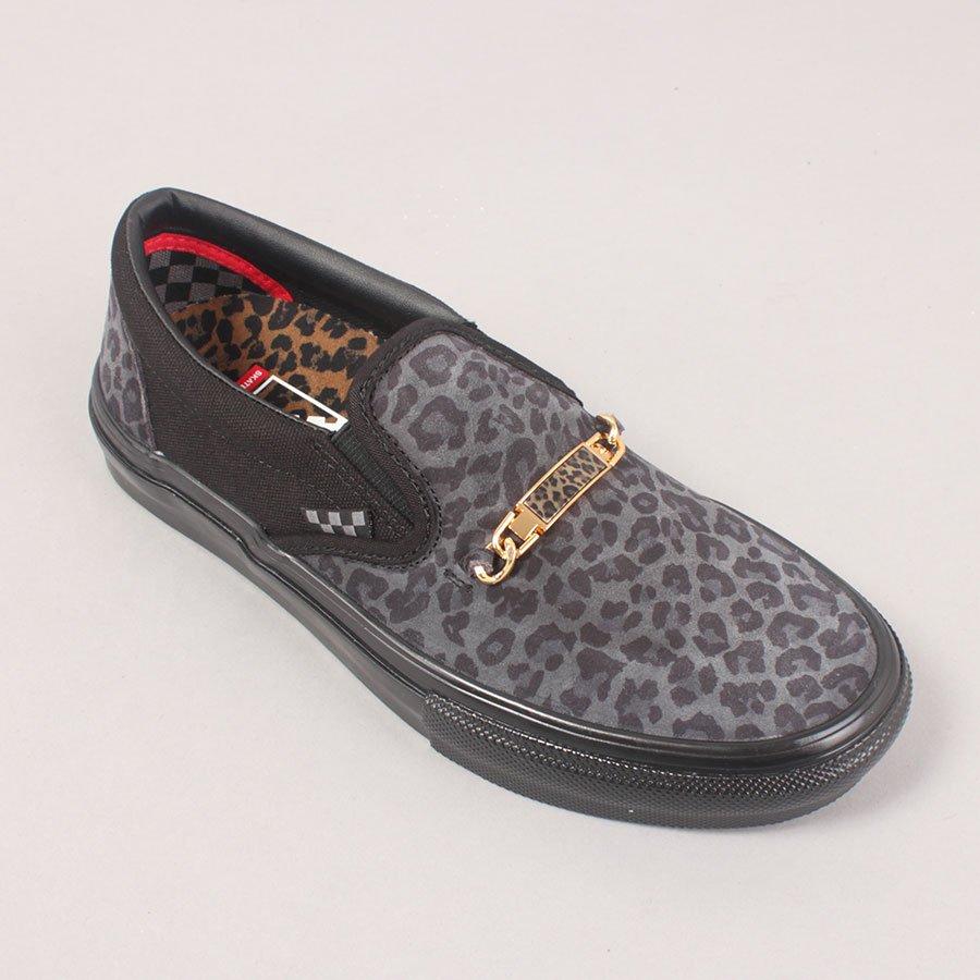 Vans x Cher Strauberry Skate Slip On - Cheetah