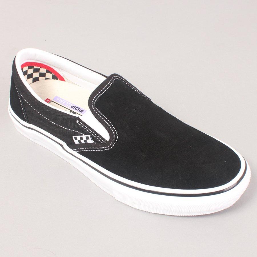 Vans Skate Slip On - Black/White