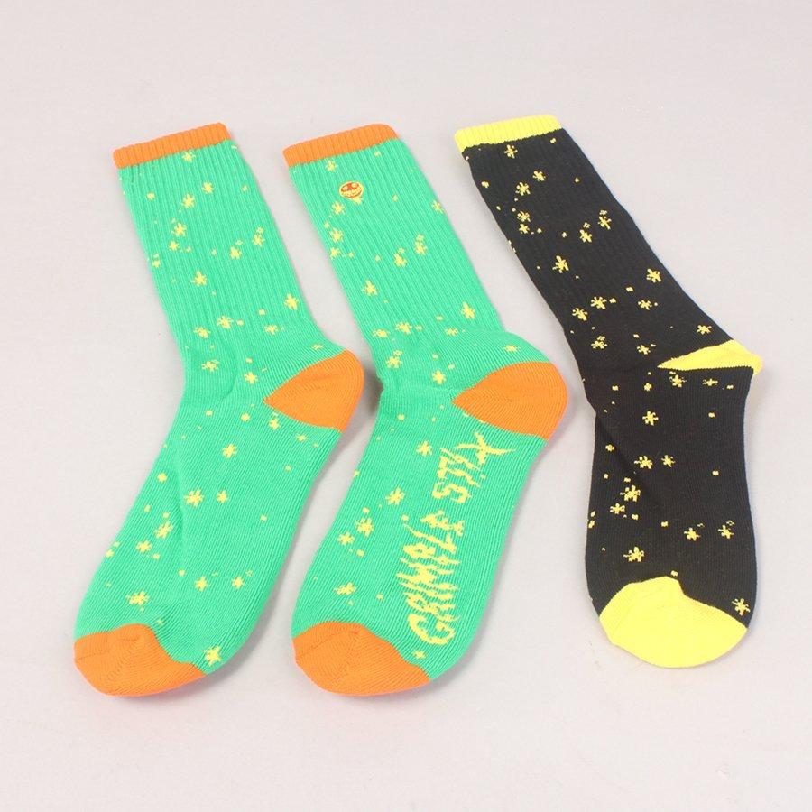 Anti Hero Grimple Socks - Green/Black