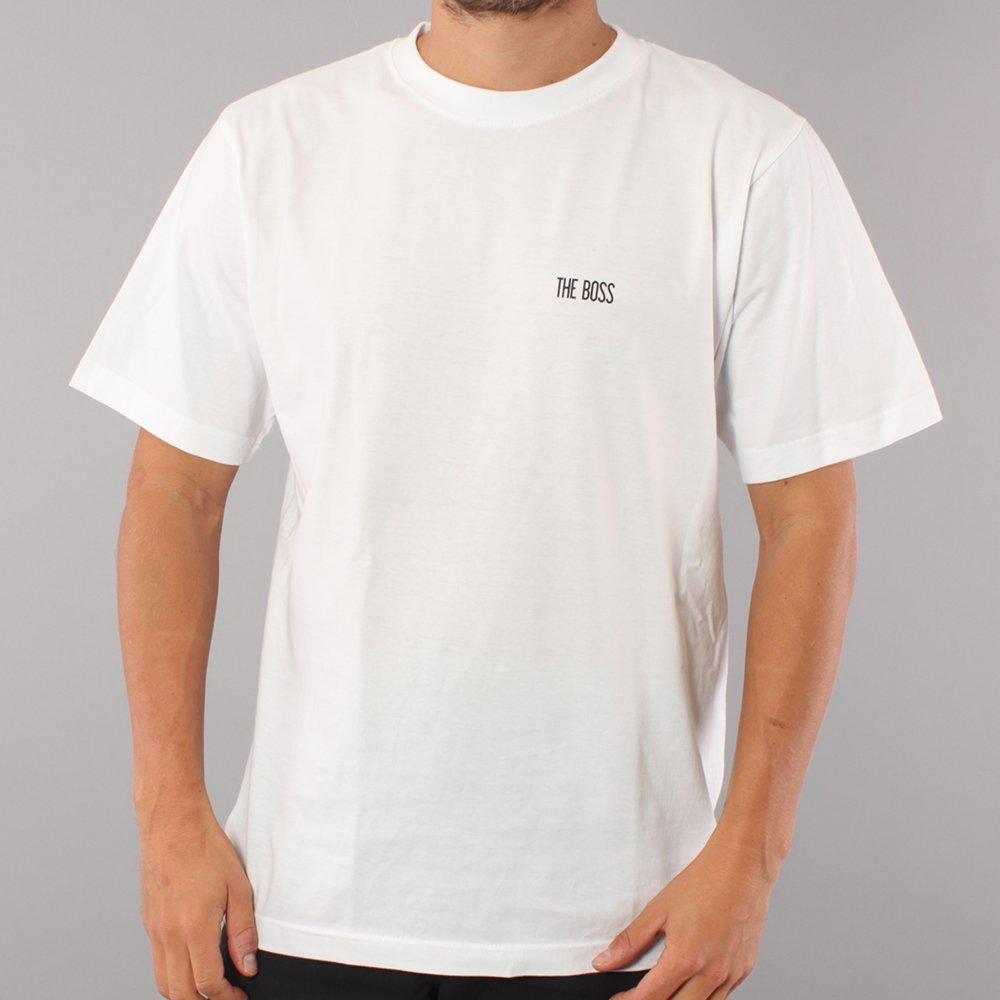 The Boss Mini Logo T-shirt - White