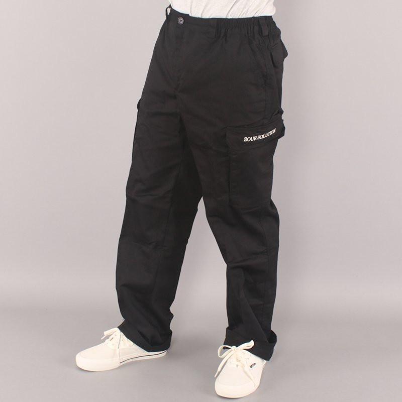 Sour Cargo Pants - Black