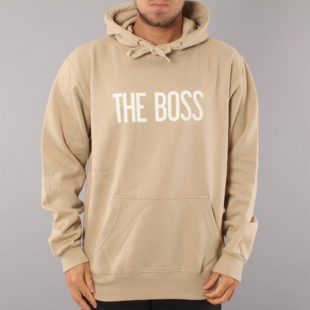 The Boss Logo Hood - Khaki